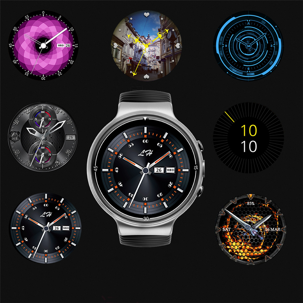 купить OGEDA 2018 new men Android 7.0 GPS Smart Watch I8 Support 4G call WiFi Bluetooth heart rate real-time monitoring Men's watch по цене 10198.95 рублей