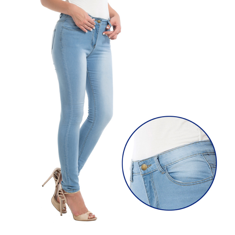 Women's Grinding White Elastic Skinny Stretch Jeans Plus Size 3XL High Waist Jeans Washed Casual Denim Pencil Pants Women Jeans 2017 new jeans women spring pants high waist thin slim elastic waist pencil pants fashion denim trousers 3 color plus size