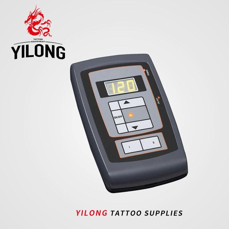 Remise en service LCD tatouage alimentation + pédale alimentaire maquillage Permanent sourcil Machine Kit alimentation réglable livraison gratuite