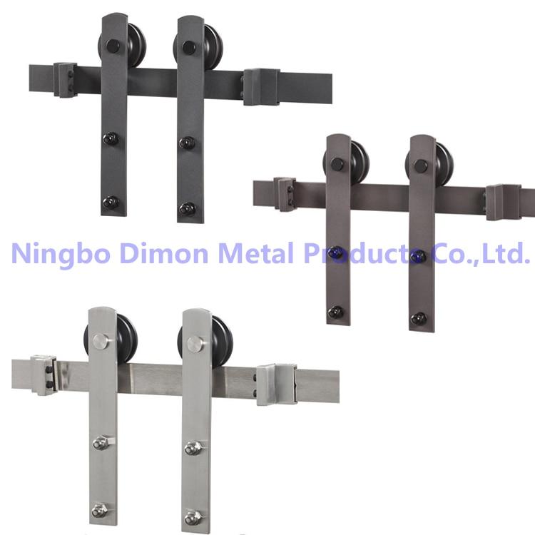 Dimon personalizzato porta scorrevole hardware con serranda kit di legno hardware porta dm sdu - Guida per porta scorrevole ...