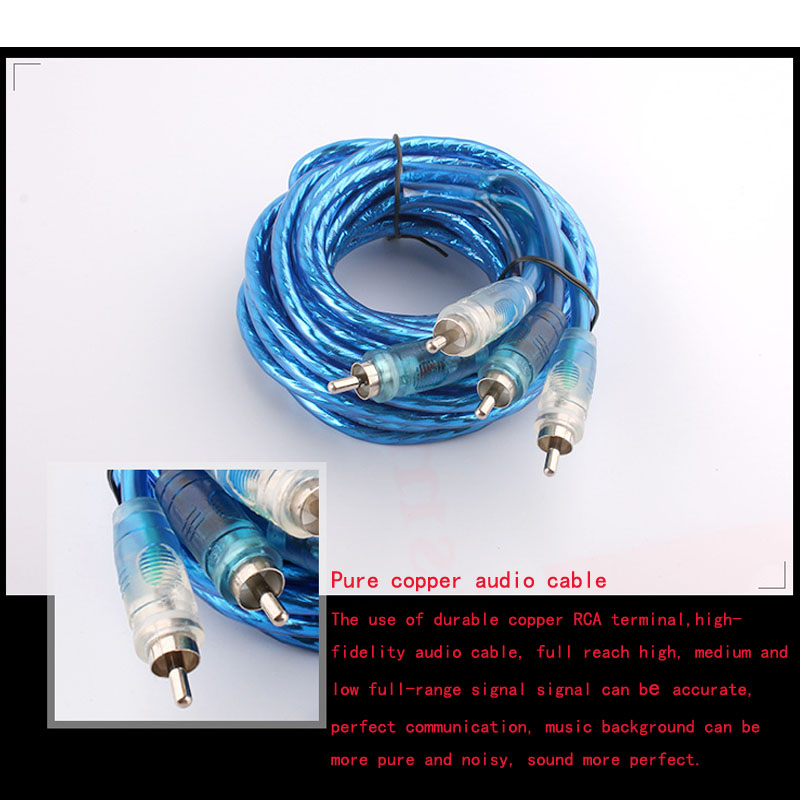 Very Cost Effective High Quality 8GA Car Power Amplifier Line Wire ...
