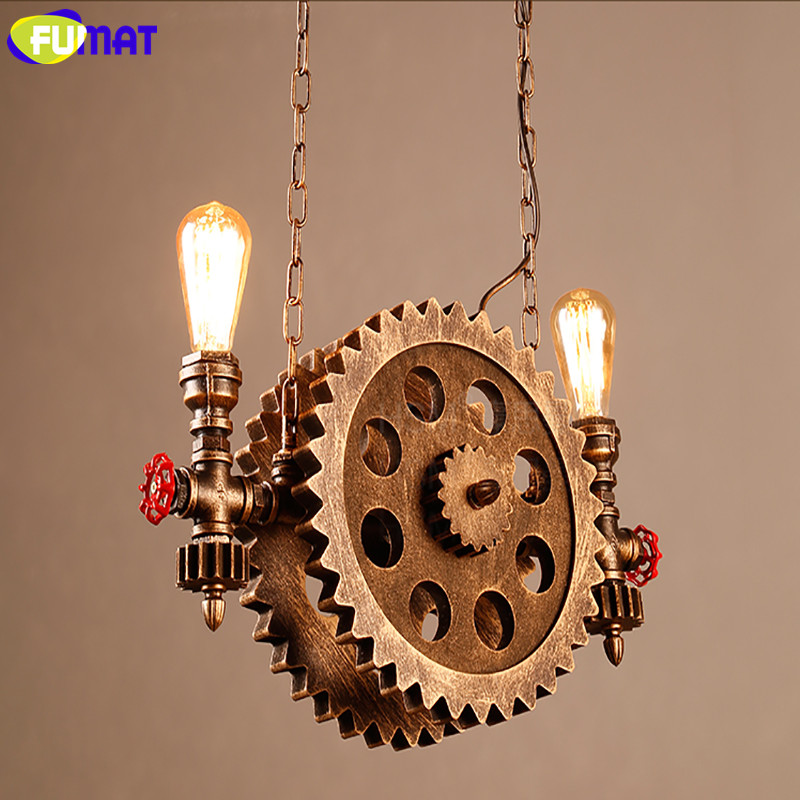 Gear Pendant Light 17