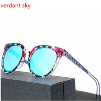 2017 Retro TR90 Vintage Classic Sun Glasses Polarized Luxury Ladies Designer Women Sunglasses Eyewear Oculos De