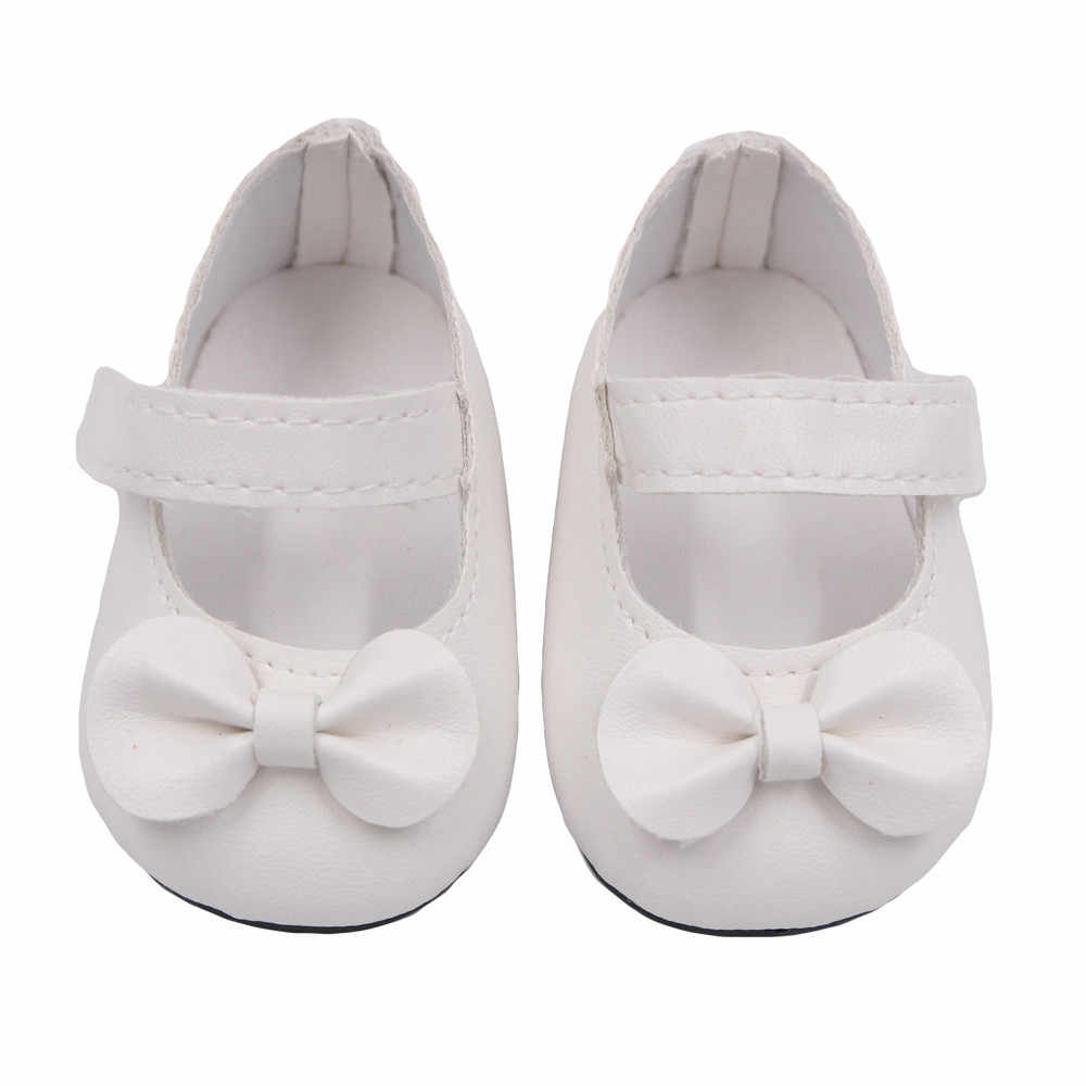 9b793f410f41f ... Glitter Doll Shoes baby Bow Dress Shoes For 18 Inch Our Generation for American  Girl Doll ...