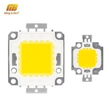 10 Вт 20 Вт 30 Вт 50 Вт 100 Вт светодиодный чип высокой яркости 9-12 в 30-36 в холодный белый теплый белый DIY для прожектора прожектор с Драйвером