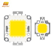 10W 20W 30W 50W 100W LED Beads Chip High Brightness 9-12V 30-36V Cold White Warm White DIY for Floodlight Spotlight With Driver(China)
