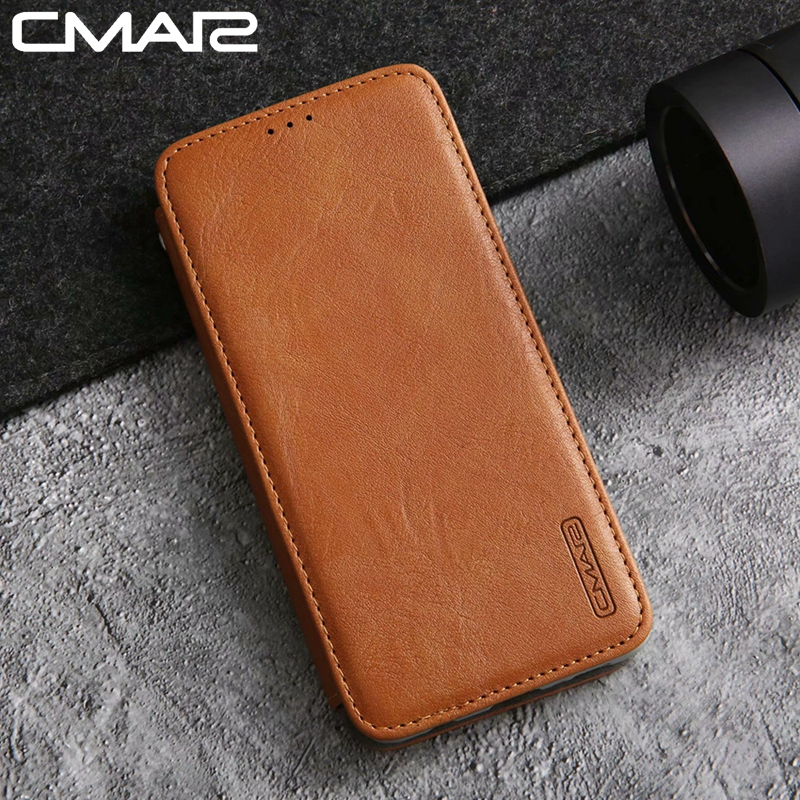 S10 5G Leather Case Vintage PU Leather Cover for Samsung Galaxy S10 Plus for Samsung Galaxy S10 5G Flip Wallet Stand Full Cover
