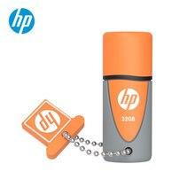 Hp USB Flash Drive 32 Гб оригинальная силиконовая Флешка Водонепроницаемая ударопрочная DJ OTG Cle USB диск на ключе мини-usb-накопитель 32 Гб
