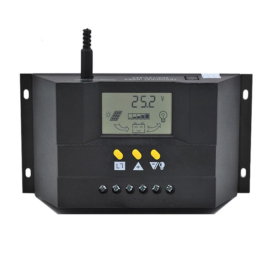 CM5024Z 50A 12V 24V PWM Solar cells Panel Battery Charge Controller Regulators 100w 12v monocrystalline solar panel for 12v battery rv boat car home solar power