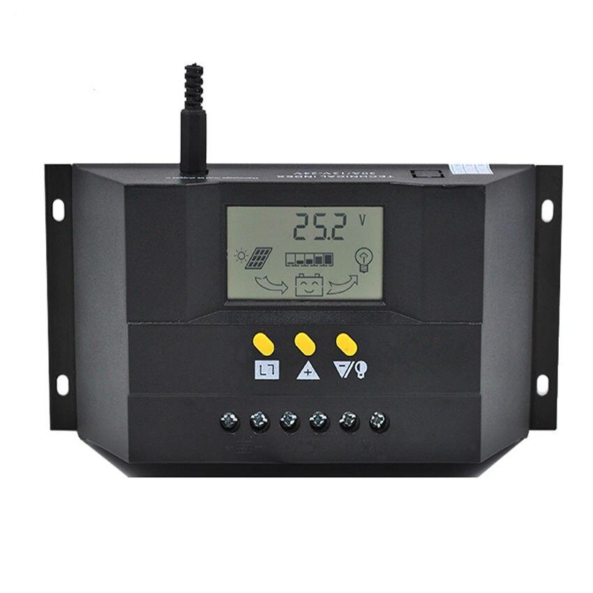 цена на CM5024Z 50A 12V 24V PWM Solar cells Panel Battery Charge Controller Regulators