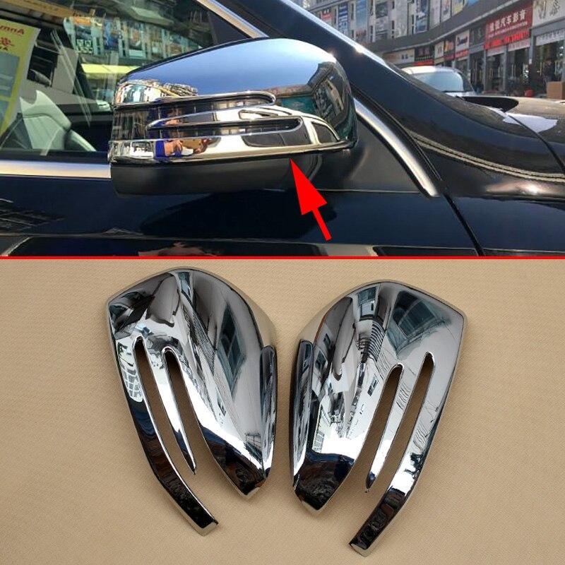 Rétroviseur de voiture rétroviseur latéral pour Mercedes W166 C292 X166 GLE Wagon Coupe GL m-class accessoires Chrome