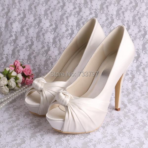 20 Colors Wedopus European Fashion Shoes Sexy Platform Wedding Shoes Womens Heels