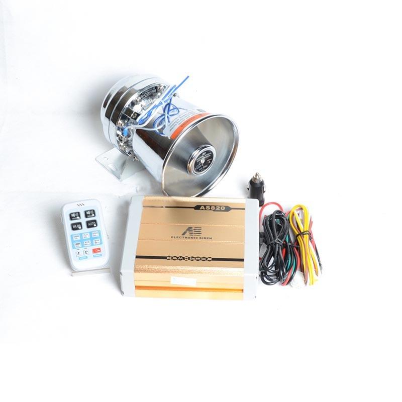 Car Styling AS820 200W Police Siren Car Alarm Siren font b Electronic b font Horn 18