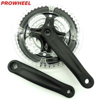 8 9 speed 24 27 speed 170 mm 48/38/28 T PROWHEEL aluminum bicycle crank chain wheel