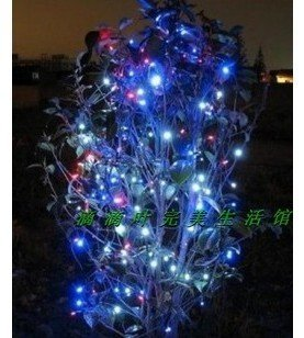 Free Shipping.Solar Lights, Solar Lamp, Solar Lantern,100LED solar string lights,LED lights,Christmas lights,holiday lights