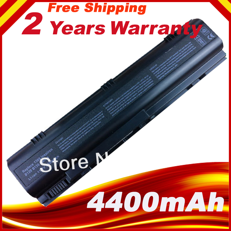 6 Cells For Dell Laptop battery Inspiron 1300 B120 B130 Lati