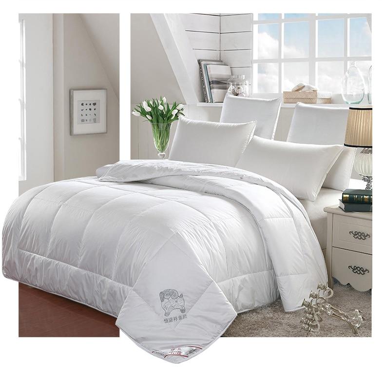100% Australian Wool Filling pure cotton Comforter 5