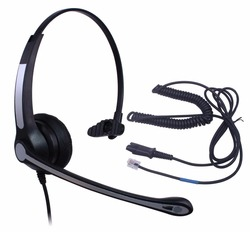 Wantek Call Center Headset with Mic + Quick Disconnect Headphone for Cisco Unified Telephone IP Phones 7931G 7940 7941 7942 7945