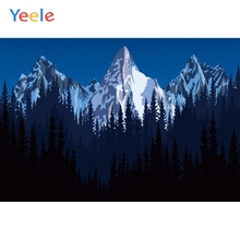 Yeele Landscape Wallpaper Night Mountain Forest Photography Backdrops Personalized Photographic Backgrounds For Photo Studio