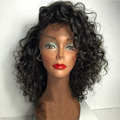 Cheap Glueless Lace Front Human Hair Wigs Curly Brazilian Virgin Hair Wig Human Hair Deep Curly Full Lace Wigs For Black Women