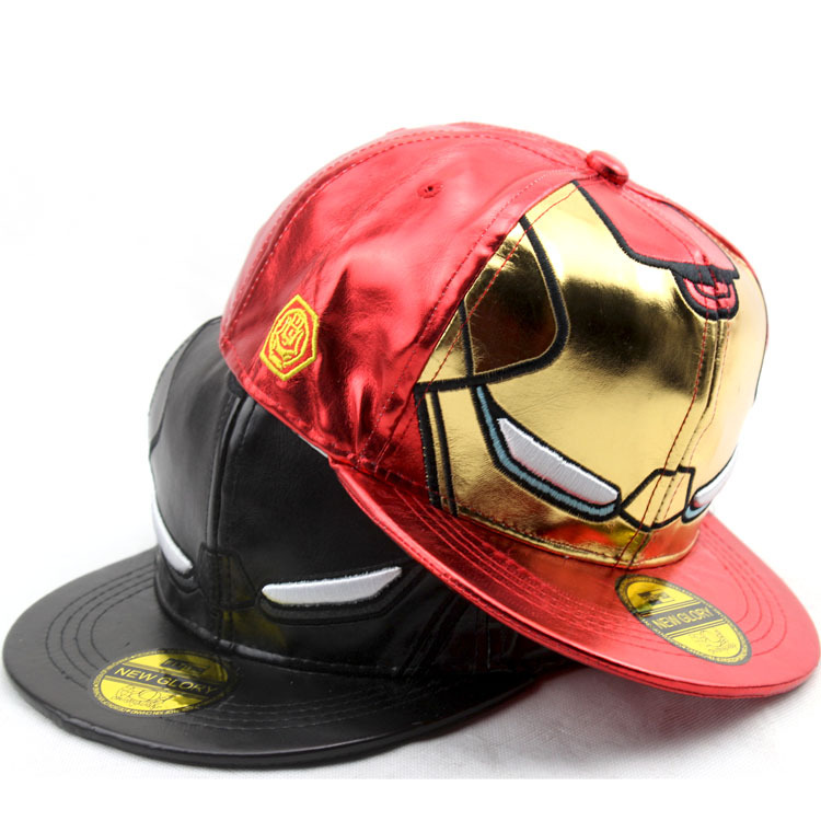 3 Style Kids Size Iron man Avengers Baseball Caps Iron Man Cartoon Character Casual  Hats & Caps