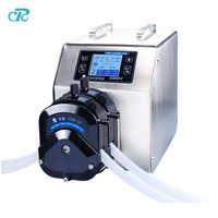 2 PPS Material Pump Heads Servo Motor Mass Volume Dispensing Peristaltic Pump