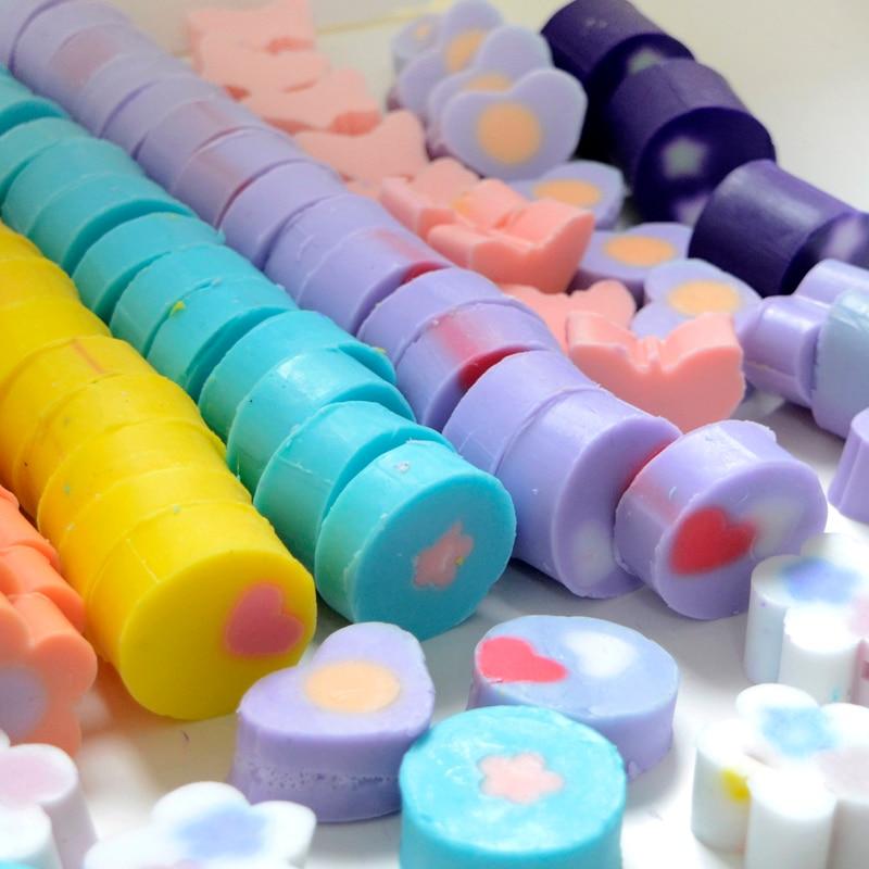 Round Silicone Soap Mold Circular Pipe Tube DIY Baking Tools Chocolate Craft