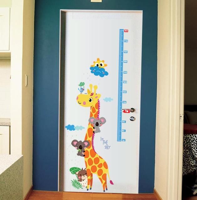 Kids Height Chart Wall Sticker
