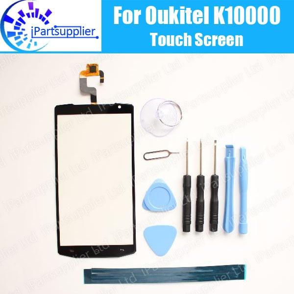 OUKITEL K10000 Touch Screen Digitizer 100% Guarantee Original Digitizer Glass Panel Touch  For OUKITEL K10000+tool+Adhesive