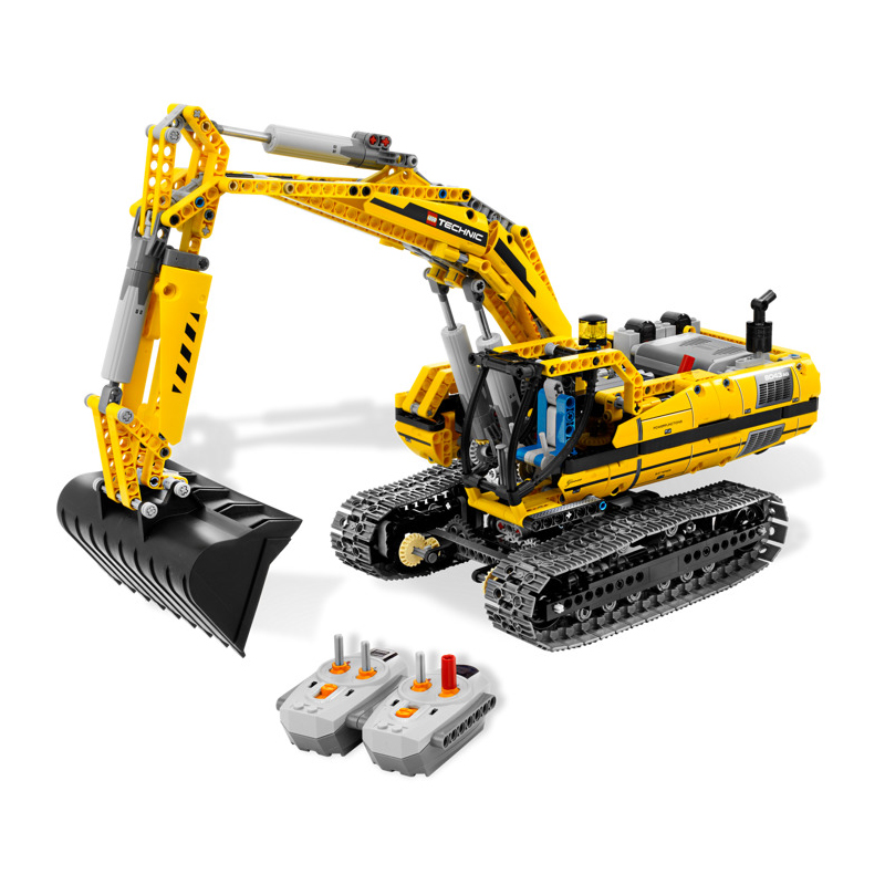 LEPIN 20007 1123pcs Technic series excavator Model Building Kit Blocks Brick Educational Toy For Childern Christmas Gift 8043 диск отрезной алмазный турбо 125х22 2mm 20007 ottom 125x22 2mm