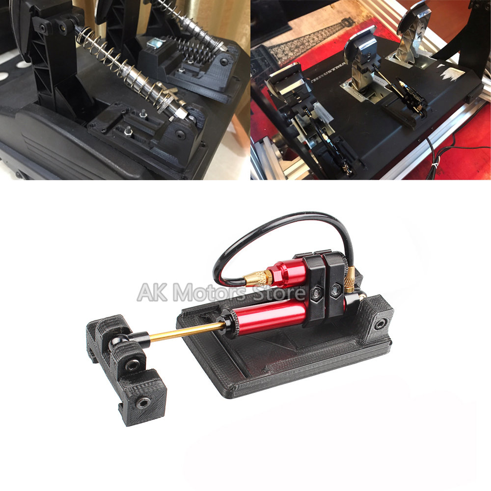 For Thrustmaster T3PA PRO Modified Hydraulic Damping Kit Clutch Brake Throttle Damping F1 Car Game