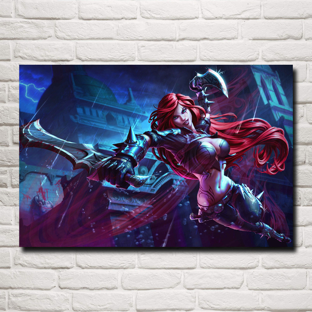 League Of Legends LoL Game Art Silk Poster Print Pictures Home Wall Decor Printing 12×18 16X24 20×30 24×36 Inches Free Shipping