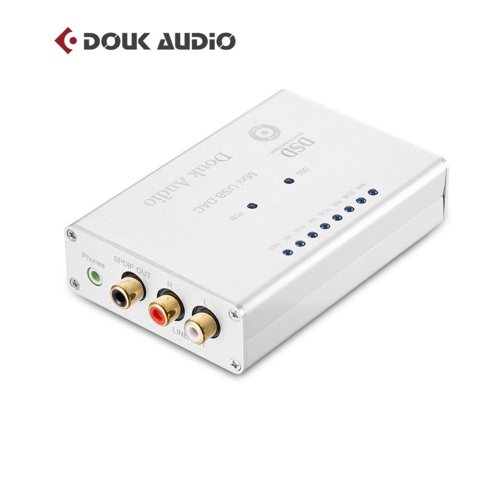 Mini AK4490 XMOS USB DAC HIFI Audio Decoding SPDIF With Headphone Interface PCM 384K DSD256 Desktop Amplifier цены