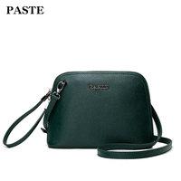 Paste New Mini Shell Leather Handbags Fashion Small Bag Genuine First Layer Cowhide Shoulder Messenger Bag