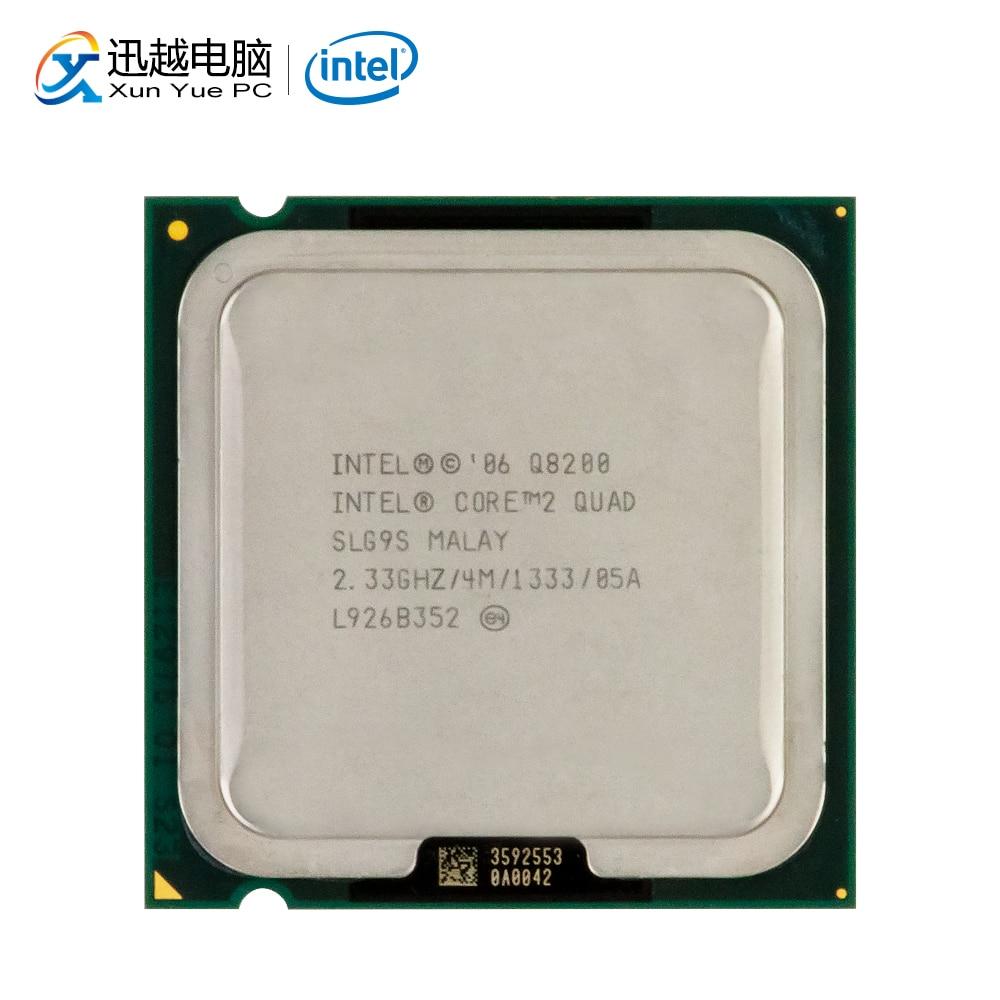 Intel Core 2 Quad Q8200 Desktop Processor Quad-Core 2.33GHz 4MB Cache FSB 1333 LGA 775 8200 Used CPU