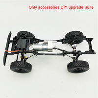 Gift DIY Intellectual Development Metal RC Car Parts Upgrade Buggy Durable Outdoor Toys Gearbox Set Children For WPL C14 C24 C34