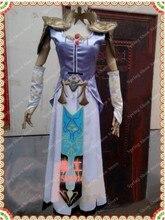 The Legend of Zelda Princess Zelda Cosplay Costume Custom Made Dress