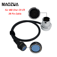 New Arrival Diagnostic Tool C4 38 Pin Cable Car Tools for MB SD Connect Compact 4 Multiplexer MB Star C4 C5 Car Cable