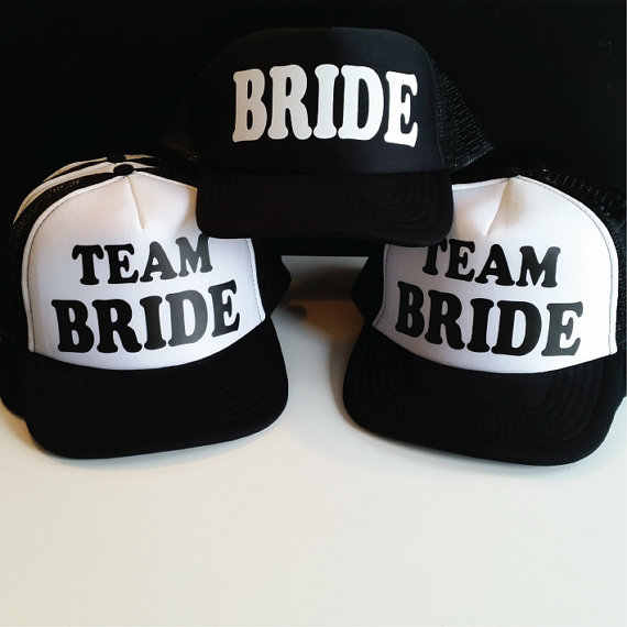 a5cafdb009cad Detail Feedback Questions about Personalize GROOM or BRIDE TEAM wedding Bachelorette  party Mesh Trucker Snapback trucker hats caps gifts favors decoration ...