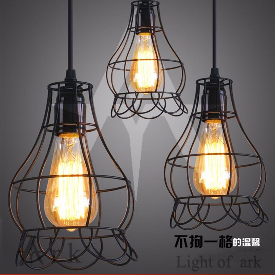 warehouse style lighting. Retro Indoor Lighting Vintage Pendant Light LED Lights 24 Kinds Iron Cage Lampshade Warehouse Style Fixture-in From \u0026 L