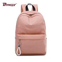 College Wind Nylon Backpack Female Teenage Girls Schoolbag Women Back pack Bags High School Student Bagpack Large Capacity