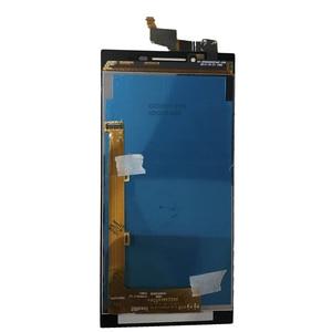 Image 2 - 100% اختبار شاشات LCD لينوفو P70 P70 A P70t P70a شاشة الكريستال السائل مجموعة المحولات الرقمية لشاشة تعمل بلمس P70 الهاتف استبدال شحن مجاني
