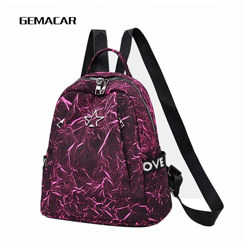 great deals 2017 fantastic savings coupon codes US $15.54 40% OFF Women Backpack Leisure Fashion Female Bag School Bag For  Designer Girl Simple Fancy Travel Shopper Bag Oxford Cloth-in Backpacks ...
