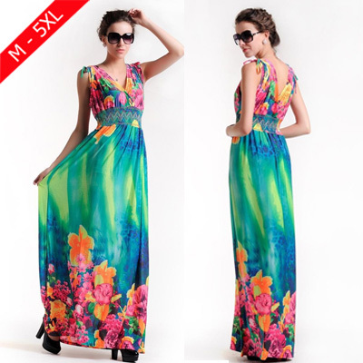 Beachwear maxi dresses