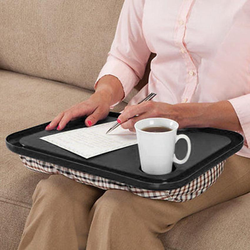 Lap Desk For Laptop Chair Student Studying Homework Writing Portable Dinner Tray 11.28