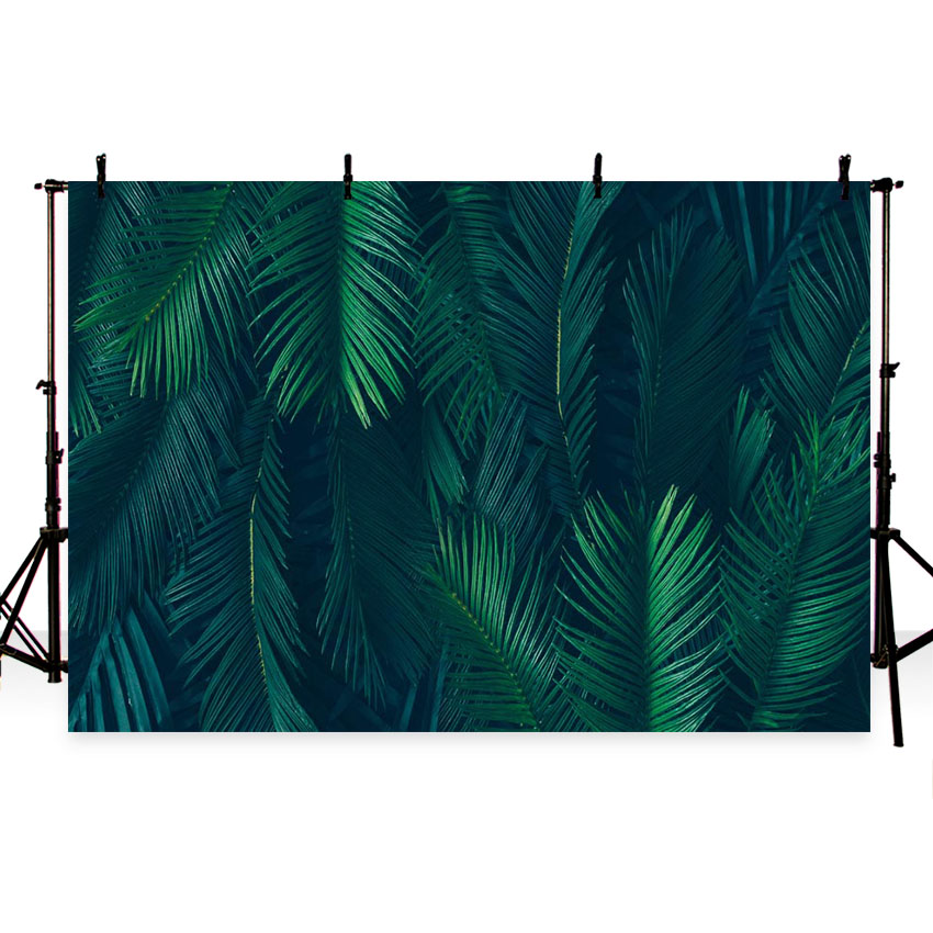 MEHOFOTO Jungle leaves tropical party theme birthday backdrop Customized vinyl Photography Backgrounds studio Background Props