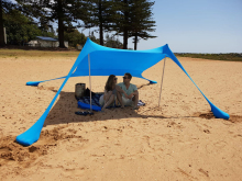 Hot Sea Beach Camping Tent tarp Sunshade inflatable Shelter canopy Sand Anchor Canopy Rain Protect