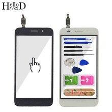 טלפון נייד לוח מגע עבור Huawei Y3 2017 CRO L22 CRO L02 CRO L03 CRO L23 CRO U00 מגע מסך זכוכית Digitizer פנל חיישן