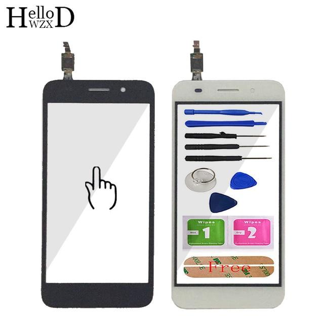Panel táctil para teléfono móvil Huawei Y3 2017 CRO L22, CRO L02, CRO L03, CRO L23, pantalla táctil de cristal, digitalizador, Sensor