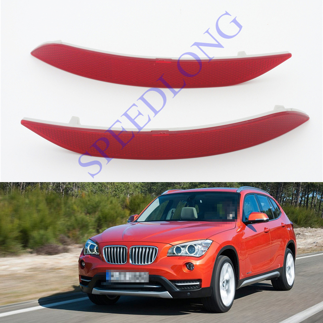 2 Pcs/Pair RH and LH Rear bumper reflector Strips for BMW X1 Series E84 2013-2014